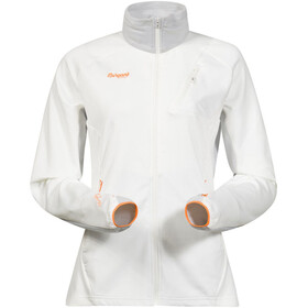 Bergans W's Galdebergtind Jacket White/Alu/Pumpkin